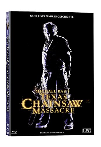 The Texas Chainsaw Massacre - Limited Mediabook - Michael Bay 2003 (Cover C lim. 500) Lederkaschierung - DVD + Blu-ray [Blu-ray]