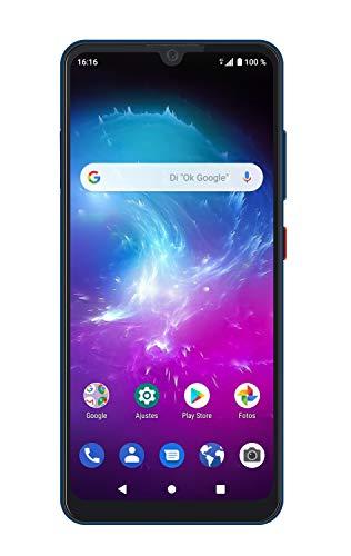 ZTE Blade A7 2019 - Smartphone de 6,09' HD+ 19:9 (Octa-Core, 2GB RAM + 32GB ROM, Cámara de 16 Mpx, doble SIM, Android 9), Color Azul [versión española]