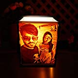 Unique Personalized Gift : The lamp makes the perfect gift for your loved ones. It can be gifted on birthdays, anniversaries, weddings etc. and all for all relationships like Friend, Husband, Wife, Boyfriend, Girlfriend, Mom, Dad etc. Two 3-D Photogr...
