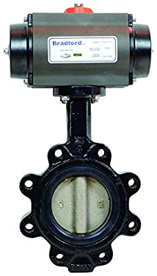 Dixon Valve B5121E1200LLBCC, Pneumatically Actuated Butterfly Valve from Dixon Valve
