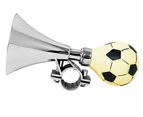 STS Trombetta Tromba Bici, Accessorio Bicicletta Suono clacson per Bambini Pallone da Calcio Bimbi