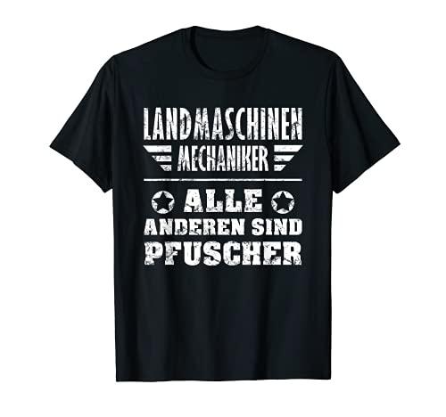 Hombre Atornillador de tractor regalo para máquinas agrícolas mecánicas Camiseta