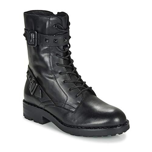 ASH Footwear Witch Bis Black Leather Buckle Boot 39 EU Schwarz