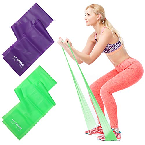 Osa Exercise Band, Long Resistance Bands, Sport Yoga Elastic Bands Natural Latex Elastic Exercise Equipment for Physical Therapy, Pilates, Stretch, Yoga, Strength Training Workout.