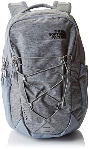 The North Face Jester Backpack Mid Grey Dark Heather/Tnf Black One Size