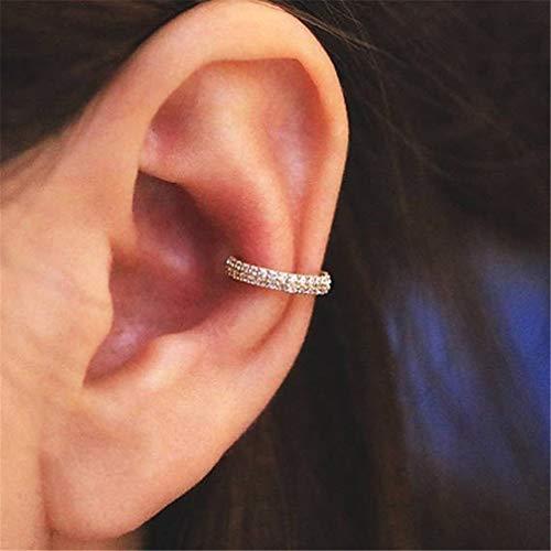 Toporchid Bijoux De Piercing Anneau De Perle CZ Unisexe (Couleur Or Rose)