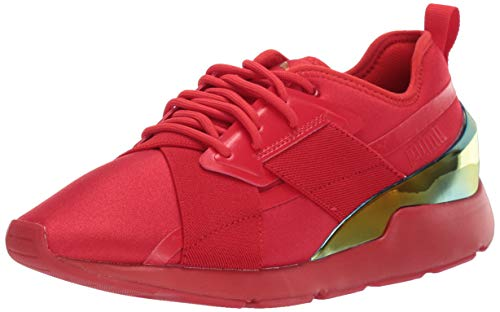 PUMA Women's Muse X-2 Sneaker, High Risk Red-high Risk Red, Numeric_7_Point_5