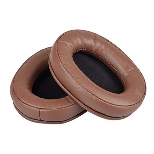 lehaha 1 par de almofadas de couro compatíveis com fones de ouvido SteelSeries Arctis 3 5 7