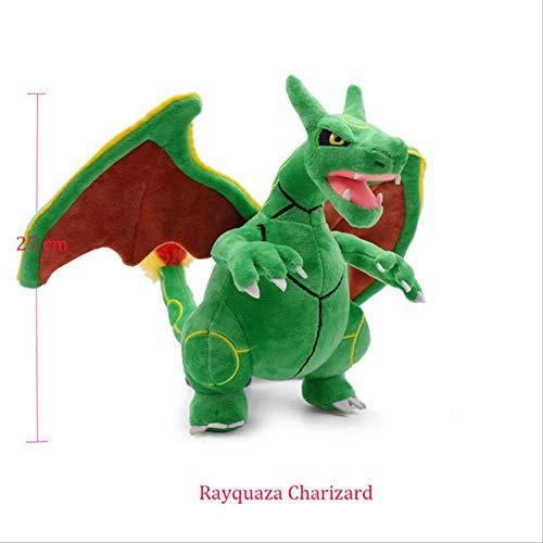 hope1 Anime Pokemon Doll Torterra Snorlax Zeraora Rayquaza Charizard Cartoon Peluche Peluche Peluche Rayquaza Charizard