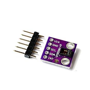 HiLetgo MAX30102 Low Power Heart Rate Click Sensor Breakout Board Module for Arduino Pulse Oximetry Solution SpO2 Replace MAX30100
