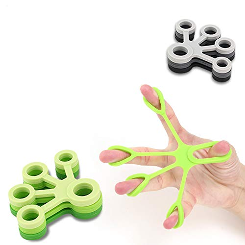 ZHaoZC Finger-Stärkungs Finger Exerciser Hand Stärkungs Stretcher Entspannung Griffe Workout, Entlasten Gelenkschmerzen, Karpaltunnel-Arthritis Karpaltunnel-Computer-Anwender