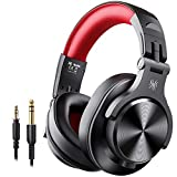OneOdio A70 Bluetooth Over Ear Headphones, Studio Headphones with Shareport, Foldable, Wired and...