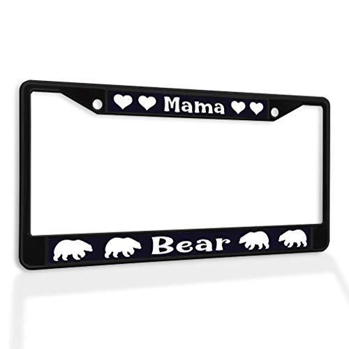 bear license plate frame - 5
