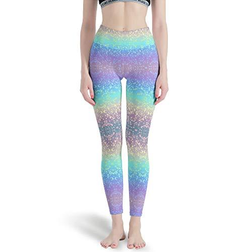 Dogedou Rainbow Background High Elastic fitnessbroek voor hardlopen