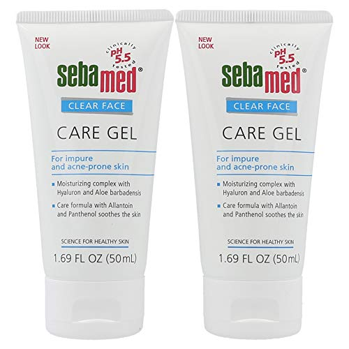 Sebamed Clear Face Care Gel, 50 ml – (2er-Set)