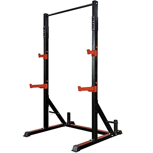DAGCOT Barbell Rack Stat Soporte Ajustable Bench Press Power Tower Tower Pull Up Bar Bar Dip Estación Torre Tower Station, Barras de pie gratis Terreno de la torre Estación de la Torre Libres de Punto