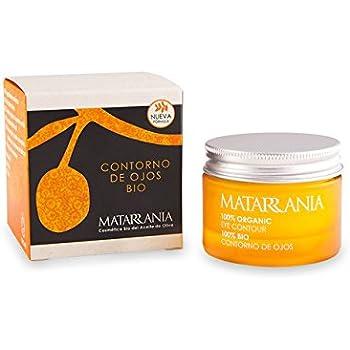 Matarrania - Contorno de Ojos certificado ecológico, 30ml: Amazon ...
