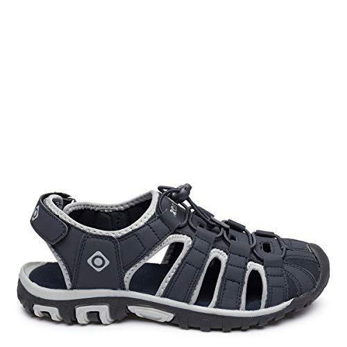 Izas | Sandalias Deportivas para Hombre y Mujer Frosty | Sandalias de Trekking y Senderismo | Chanclas Ligeras y Cómodas Diseñadas para Caminar | Poliéster | Escarpines | Verano | Cierre Velcro