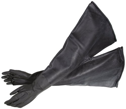 Bel-Art Glove Box Economy Sleeved Size 10 Gloves; For 8 in. Glove Ports (H50025-0546)