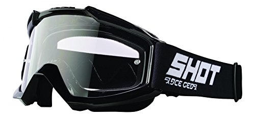 SHOT, gafas de moto Assault negro