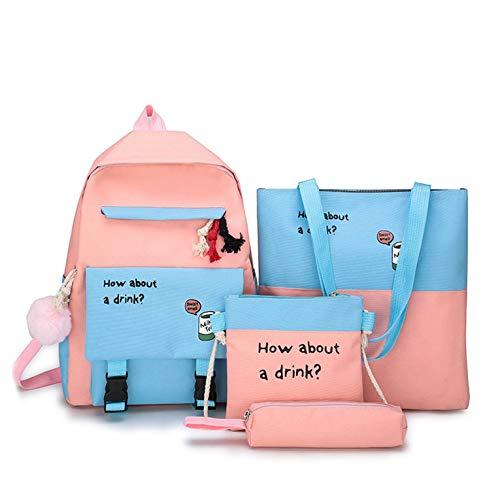 Harajuku Schultasche mit großer Kapazität Koreanischer Schüler College-Student Rucksack einfacher Kleiner frischer Rucksack