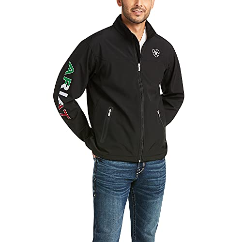 ARIAT New Team Softshell Mexico Jacket Black L