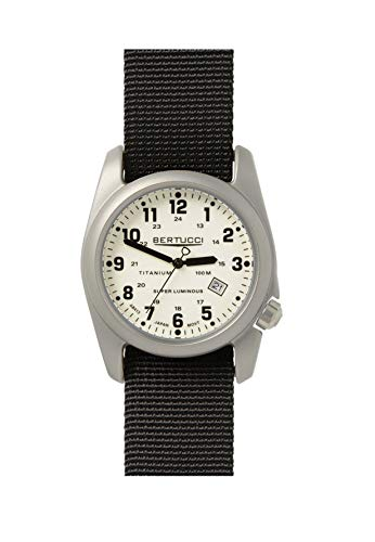 Bertucci A-2T Original Classics White/Black/Silver Analog Quartz Men's Watch 12086
