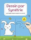 Dessin Par Symétrie: +120 formes géométriques objets simples animaux à reproduire, livre d'activité pour enfant à partir de 5 ans, Dessin sur ... section, Apprends à reproduire un modèle