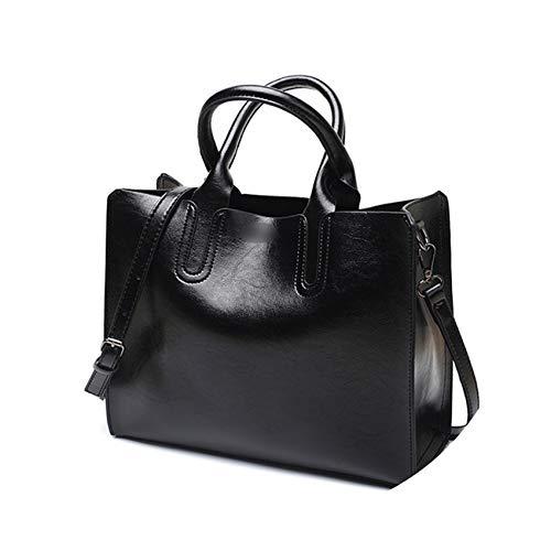 Women Shoulder Bag Simple Handbags Famous Brands Tote Ladies bags for Women handbags,black