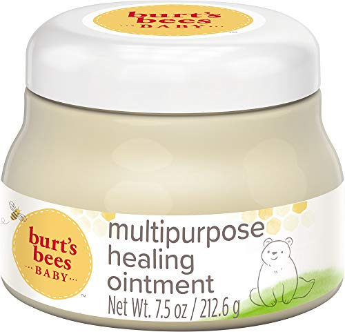 Burt#039s Bees Baby 100% Natural Multipurpose Ointment Face amp Body Baby Ointment – 75 Ounce Tub
