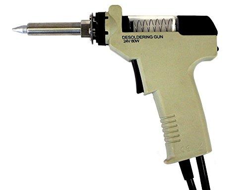 Komerci Ersatz-Entlötpistole ZD-552 für Entlötstationen ZD-915 und ZD-917, mit Entlötspitze 1,0mm, Beige