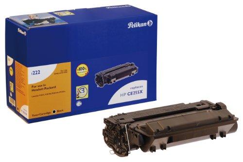 Pelikan Toner ersetzt HP CE255X (passend für Drucker HP LaserJet Enterprise P3010 Series/ -P3015D/ -N/ -DN/ -X/-500 MFP M525 Series/ -M525DN/ -F; Canon LBP 6750 / -DN)