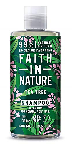 Faith in Nature Champú Natural de Árbol del Té, Purifican