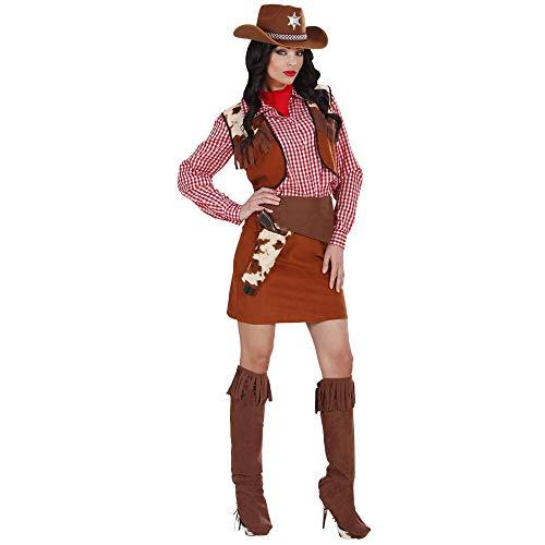 WIDMANN Desconocido Disfraz de Vaquera Oeste Mujer