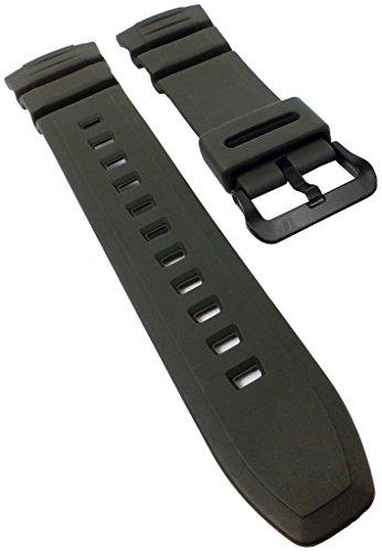 Correa de Repuesto para Reloj de Pulsera Casio Classic de Resina Verde HD-S100