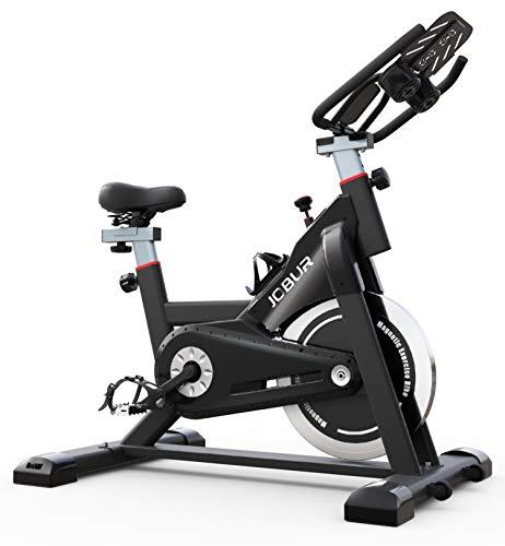 JOBUR Magnetic Exercise Bikes with Ipad Mount, Fitness Bike...