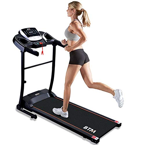 Electric Treadmill for Home, Foldable Treadmill, USB & Speakers, 12 Pre-Programs, 98% Assembled, Treadmill Running Machine, Treadmill Electric Folding