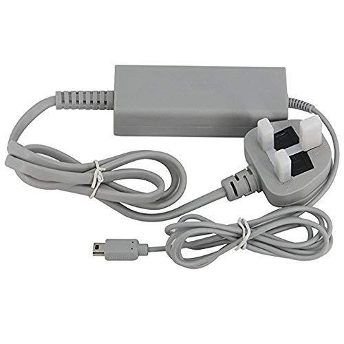 CHILDMORY Power Adapter Supply AC Wall Charger Cable Cord UK Plug for Wii U...