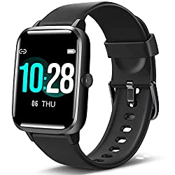 "Image of Blackview Smart Watch for Android Phones and iOS Phones, All-Day Activity Tracker with Heart Rate Sleep Monitor, 1.3"" Full Touch Screen, 5ATM Waterproof Pedometer, Smartwatch for Men Women: Bestviewsreviews"