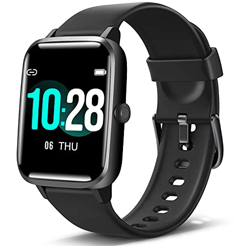 """Blackview Smart Watch, Fitness Tracker with Heart Rate Sleep Monitor, Activity Tracker with 1.3"""" Full Touch Screen, IP68 Waterproof Pedometer Smartwatch, Step Counter for Kids, Women and Men"""