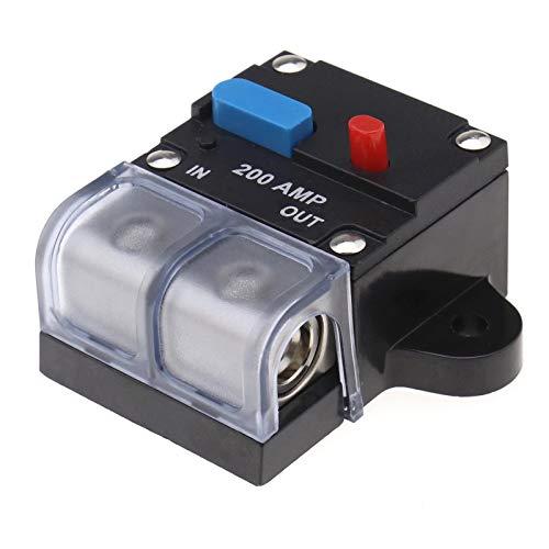 Wyłącznik automatyczny 200 A, przełącznik przyciskowy do samochodowego łódki system audio do skręcania silnika ochrona bezpiecznika