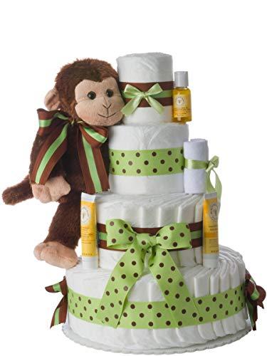 Diaper Cake - Monkey Theme Handmade by...