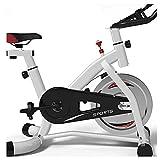 WJFXJQ Accueil Fitness Trainer Vélo d'intérieur Exercice Vélo Vélo Direct Courroie Driven 6kg Flybouet Résistance magnétique Exercice Cyclisme Courroie Courreuse à vélo piloté