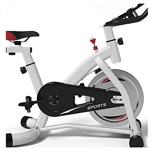 Bicicleta estacionaria Bicicleta estática, cubierta Ciclismo Bicicleta de ejercicio de la correa de accionamiento directo 6Kg volante resistencia magnética ejercicio en bicicleta de carreras de bicicl