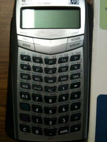 HP 33S Scientific Calculator (F2216A),Grey