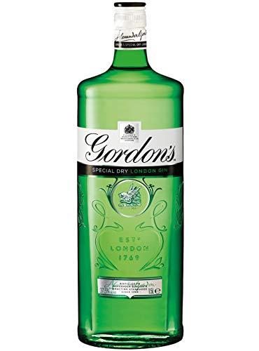 Gordons Gin 37.5% - Pack Size = 1x1.5ltr
