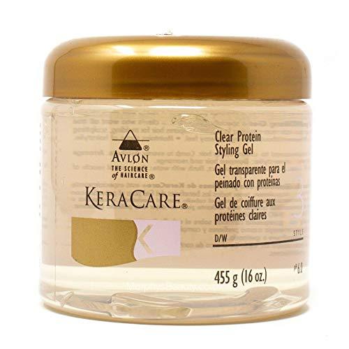 Avlon Keracare Protein Styling Gel Clear 16Oz