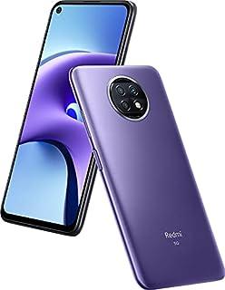 هاتف Xioami Redmi Note 9T ثنائي بطاقات الهاتف الذكي Daybreak ارجواني/اسود 4 جيجا رام 128 جيجا 5G LTE