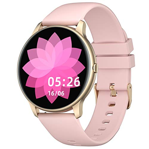 YAMAY Smart Watch Compatible iPhone and Android Phones IP68...