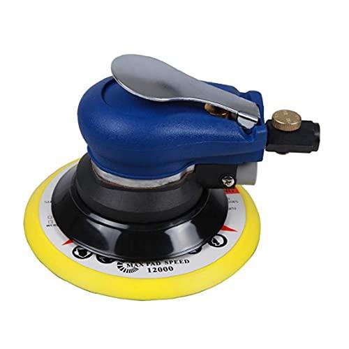 Pulidor neumático de palma de aire de lijadora orbital aleatoria eléctrica de 5 pulgadas para moler duradero